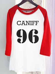 Taylor Caniff 96 Raglan or Long Sleeve Shirt Clothing Magcon