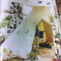 nordisk tent in the room