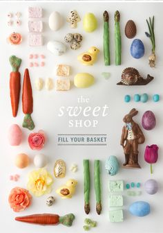 Fill those Easter baskets with candy from Terrain #eastergiftideas #chocolate