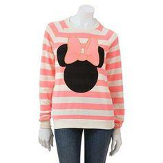 Disney Minnie Mouse Sweatshirt #MinnieStyle
