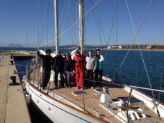 Spirit of Oysterhaven Crew about to set off from Sotogrande !