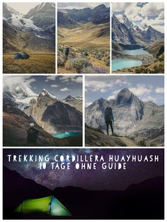 10 Tage Trekking in der Cordillera Huayhuash ohne Guide. Peru, Hiking Trails, Explore, Mountains, Nature, Travel, Travel Report, Hiking, Viajes