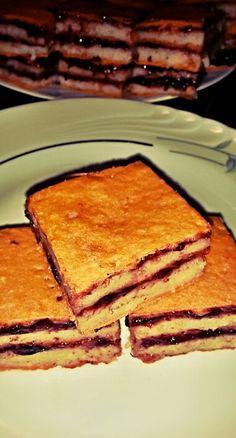 Prăjitura cu griș Italian Recipes, Breakfast, Ethnic Recipes, Kitchen, Rome, Baking Center, Cooking, Kitchens, Cuisine