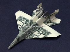 How to make a Dollar Bill Origami Epic Fighter - YouTube