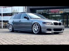 BMW E46 Touring | Stance Works | Camber. | EFHC | BBS | Lowlife - YouTube
