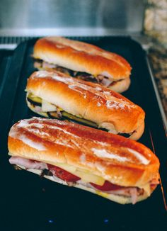 Cuban sandwiches have become a favorite in all parts of the US these days. You find these different versions of the Cuban sandwich everywhere in restaurants, diners and even bodegas in cities with large Latino populations.