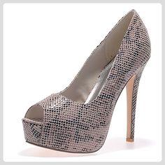 Pinup Couture Cutiepie-08 - Sexy High Heels Retro Mini-Plateau Peeptoes  35-42, Größe:EU-37 / US-7 / UK-4 - Damen pumps (*Partner-Link) | Pinterest  | Pinup ...