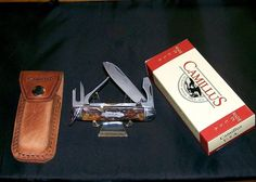 Camillus WWII Medics Knife & Sheath 1940's Rogers Bone Handles W/Packaging @ ditwtexas.webstoreplace.com
