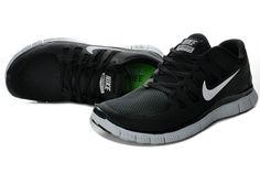 quality design 97dad c7808 Herren Nike Free Run 5.0 Schuhe Schwarz Silber Nike Free Run 3, Nike Free  Shoes