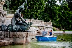 Retiro Park rowboats Madrid, Spain Carissa Rogers GoodnCrazy photography