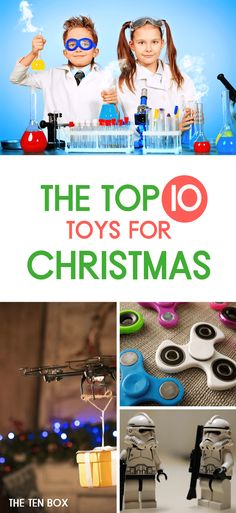 I don't know about you, but I'm always running around at the last minute looking for that one toy that the kids just heard about and have to have! So, remember not to wait until the last minute! The top ten toys always go fast!  | Toy Ideas | Toys for Girls | Toys for Boys