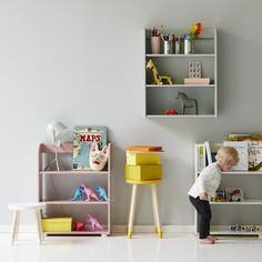 shelving for kids spaces
