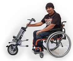 Firefly Electric Attachable Handcycle for Wheelchair>>> See it. Believe it. Do it. Watch thousands of spinal cord injury videos at SPINALpedia.com