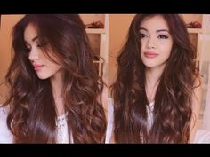 My Everyday Hair: Heatless Wavy Hair - YouTube