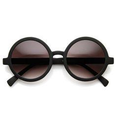 Cute Mod-era Vintage Inspired Round Circle Sunglasses - sunglass.la