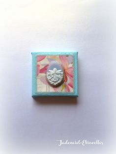"""Mini toile décorative """" Songes de fleurs """" n°54 : Accessoires de maison par jademiel-etincelles"""