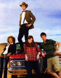 The Ponds: you wish you were cool enough to be part of that family. <--- We are a part of that family.