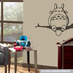 Hey, I found this really awesome Etsy listing at http://www.etsy.com/listing/171802899/totoro-studio-ghibli-wall-decal-sticker