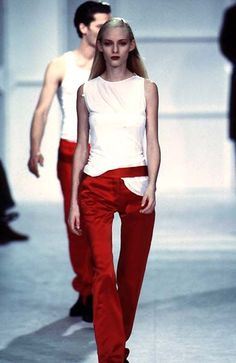 Helmut Lang - Spring / Summer 1997 | Amy Wesson: