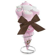 Baby Cherry Blossom - Baby Shower Diaper Bouquet $27.99