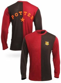 Harry Potter geeks will love this Goblet of Fire Triwizard Tournament jersey or shirt. #harrypotter