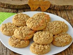 My Favorite Food, Favorite Recipes, Hazelnut Cookies, Food Words, Pastry Recipes, Perfect Food, Food Pictures, Breakfast Recipes, Muffin