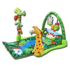 Rainforest Musical Baby Activity Mat
