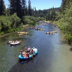 Truckee River Rafting in Tahoe City, CA - float down the river