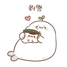 Peach Wallpaper, Cat Icon, Kawaii Cute, Artist Names, Chibi, Bb, Cartoons, Snoopy, Japanese