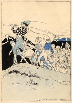 The Pied Piper - Fairy Tales Everyone Should Know, 1920