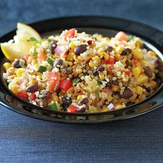 Clean Eating Southwest Confetti Quinoa Salad