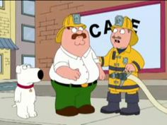 Family Guy firefighter Peter  shared by nyfirestore.com