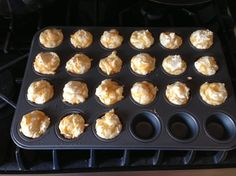 The chef at the resthome where I work, adapted a basic muffin recipe just for myself and another employee. They taste great and will be a welcome addition to my kids lunchboxes and to eat with soup in the winter.