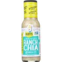 Hilarys Eat Well Dressing - Ranch Chia - Gluten Free - 8 Oz - Case Of 6