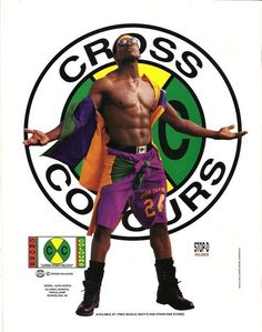 Cross Colours. | 32 Regrettable '90s Guys Fashion Trends