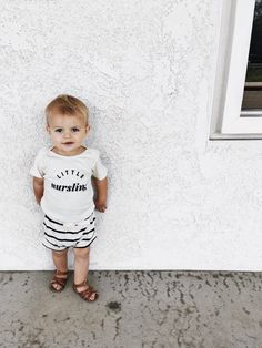 Little Nursling™ Organic Cotton Onesie | the cutest toddler style!