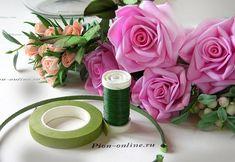 Фоамиран мастер класс по созданию венка из роз