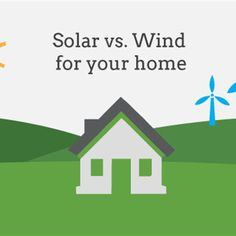 #INVESTMENTS #SWD #GREEN2STAY Solar vs Wind Energy, Which is Right for Your Home 5/5/2016 12:24:00 PM By Vikram Aggarwal, EnergySage Tags: solar power, Energy Sage, Solar power, wind power, Vikram Aggarwal, Massachusetts