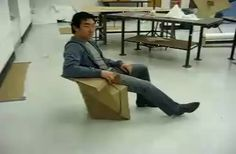 Cool Cardboard Chair