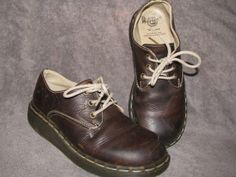 VIntage Dr. Marten Wedge Sole 70s Brown Oiled by LIFEofOLWEN, $26.99