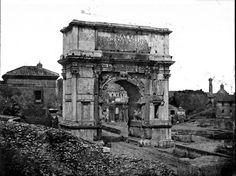 Arco di Tito 1850 Rome, Italy