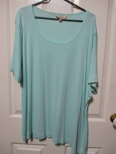 Ladies Avella size 24 Top light green #Avella #Casual #TopsBlouses Online Price, Tunic Tops, Best Deals, Lady, Casual, Green, Fashion, Moda, Fashion Styles