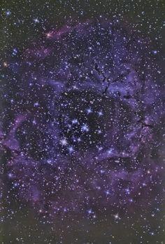 The Rosette Nebula  Taken by Jeff Adkins Sr, Jr & Terry Lutz on December 1, 2013 @ Willard, Ohio