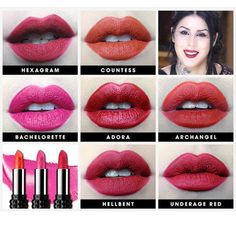 KAT VON D STUDDED KISS LIPSTICK: THE REDS. A collection of timeless, bold reds for every occasion and skintone. See more on the #Sephora Glossy>
