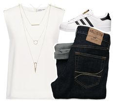 """""""Consume dream"""" by isabellhamas ❤ liked on Polyvore featuring Finders Keepers, adidas, Hollister Co., Charlotte Russe, StreetStyle, fashionset and superstar"""