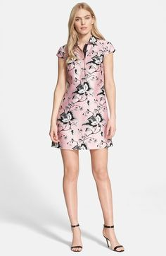 Diane von Furstenberg 'Morgan' Wool & Silk A-Line Dress available at #Nordstrom