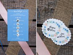 Pocket-Fold-Einladung Kraftpapier Invites Wedding, Kraft Paper, Pastel, Creative
