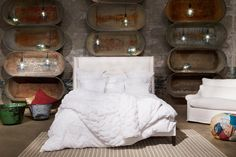 Bed  Francesca Queen Bed | www.celadonathome.com