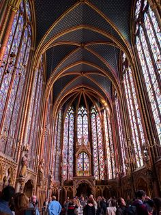 While not as well-known or impressive on the outside as nearby Notre Dame, once you step inside, Sainte-Chapelle is absolutely breathtaking (and one of my all-time favorite sites in Paris)