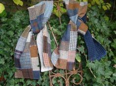 tweed sjaals van Atelier Verknipt